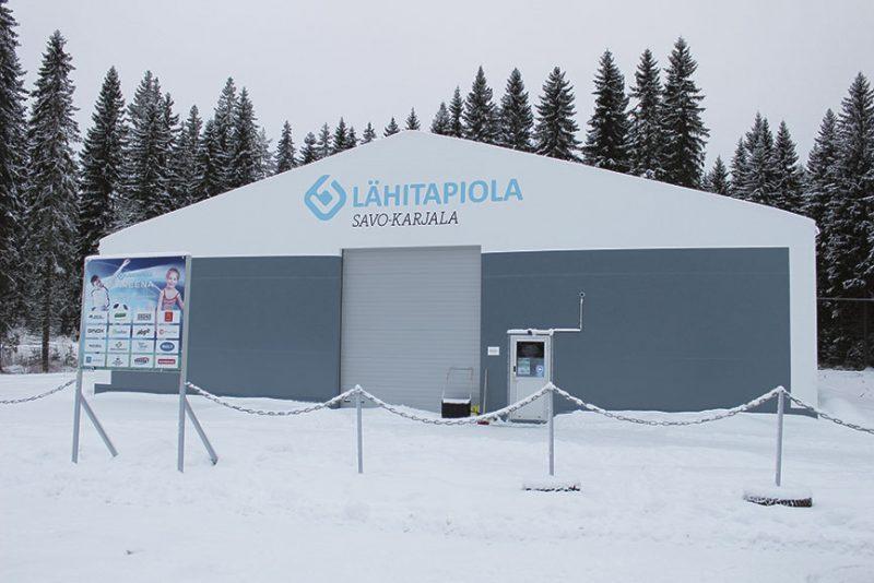 LähiTapiola Areena on ulkomitoiltaan 30 metriä leveä ja 40 metriä pitkä.